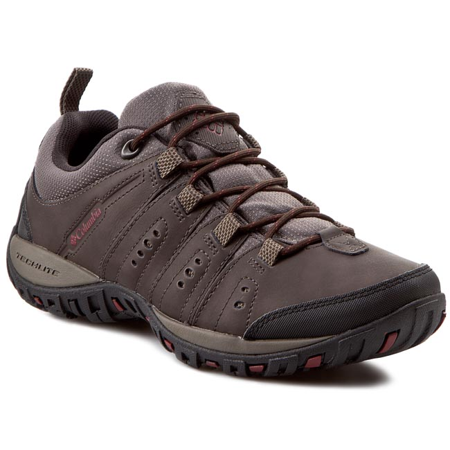 Trekkings COLUMBIA - Woodburn II BM3923 Cordovan/Garnet Red 231