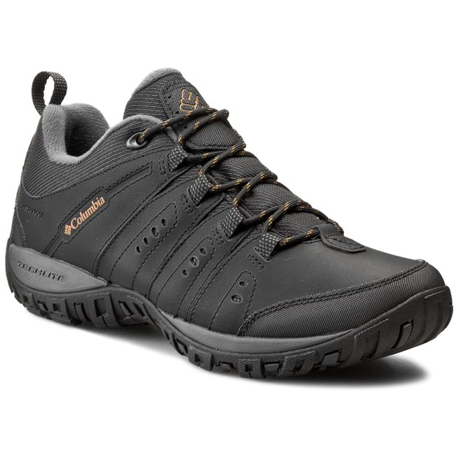 Trekkings COLUMBIA - Woodburn II BM3924 Black/Caramel 010