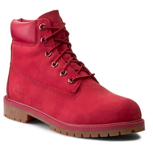 Trappers TIMBERLAND - 6 In Premium Wp Boot A13HV/TB0A13HV6261 Red imagine