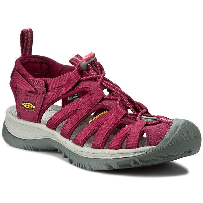 Sandale Keen - Whisper 1012229 Beet Red/Honey Suckle imagine epantofi.ro 2021