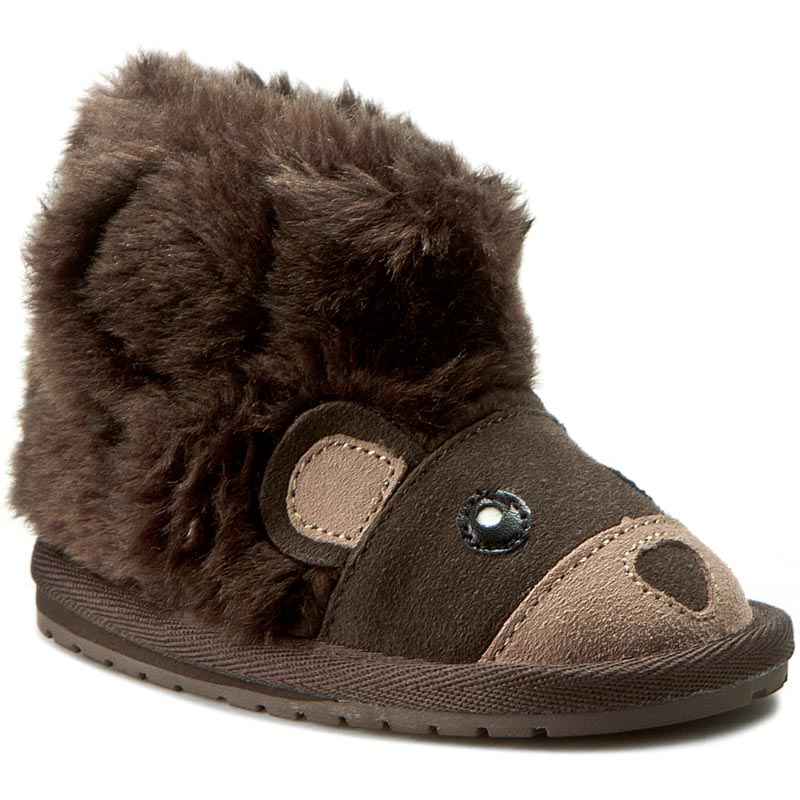 Pantofi Emu Australia - Bear Walker B11197 Chocolate imagine epantofi.ro 2021