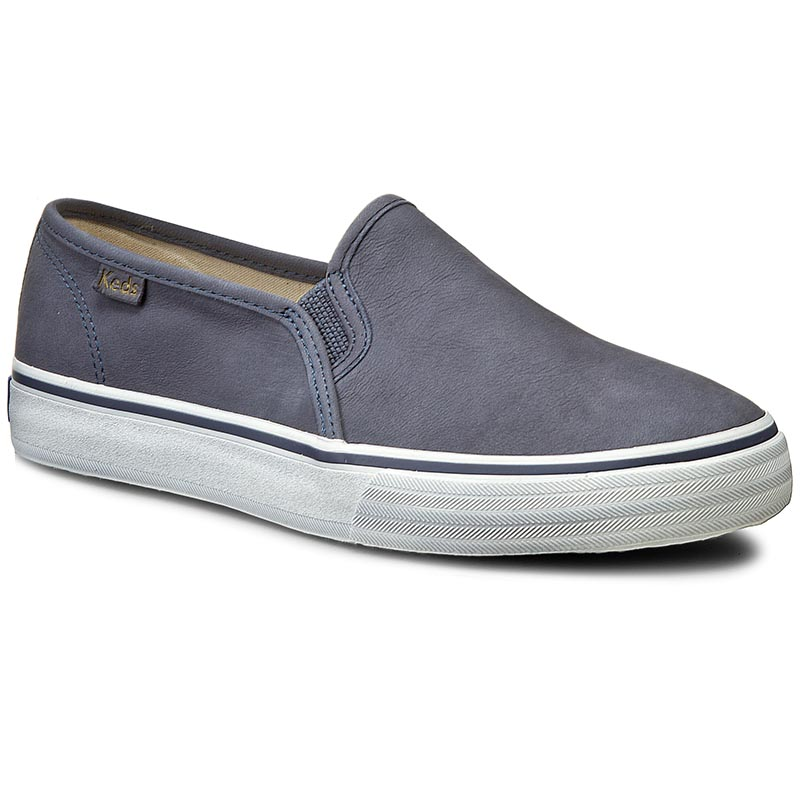 Teniși KEDS - Double Decker WH54677 Leather Navy