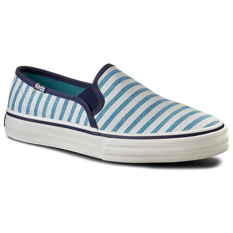 Teniși KEDS - Double Decker WF54670 Stripe Blue