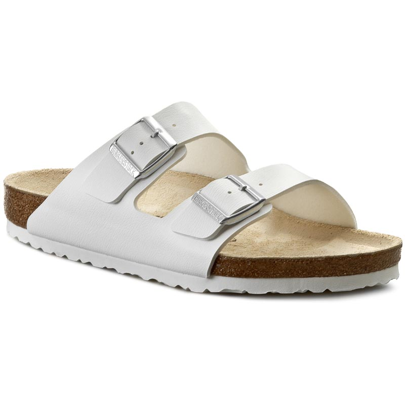 Șlapi BIRKENSTOCK - Arizona 0051731 White