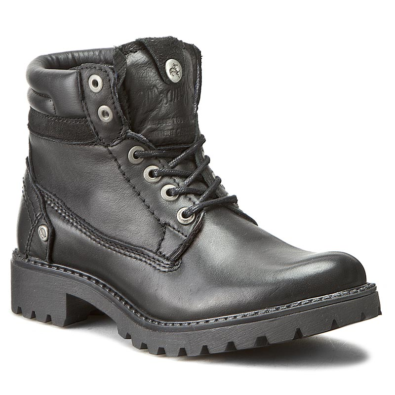 Trappers WRANGLER - Creek Leather WL162501 Black 62
