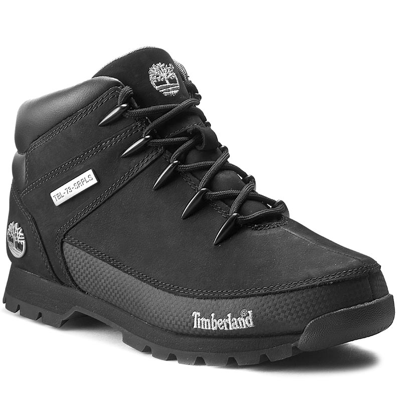 Trappers TIMBERLAND - Euro Sprint 6361R/TB06361R0011 Black