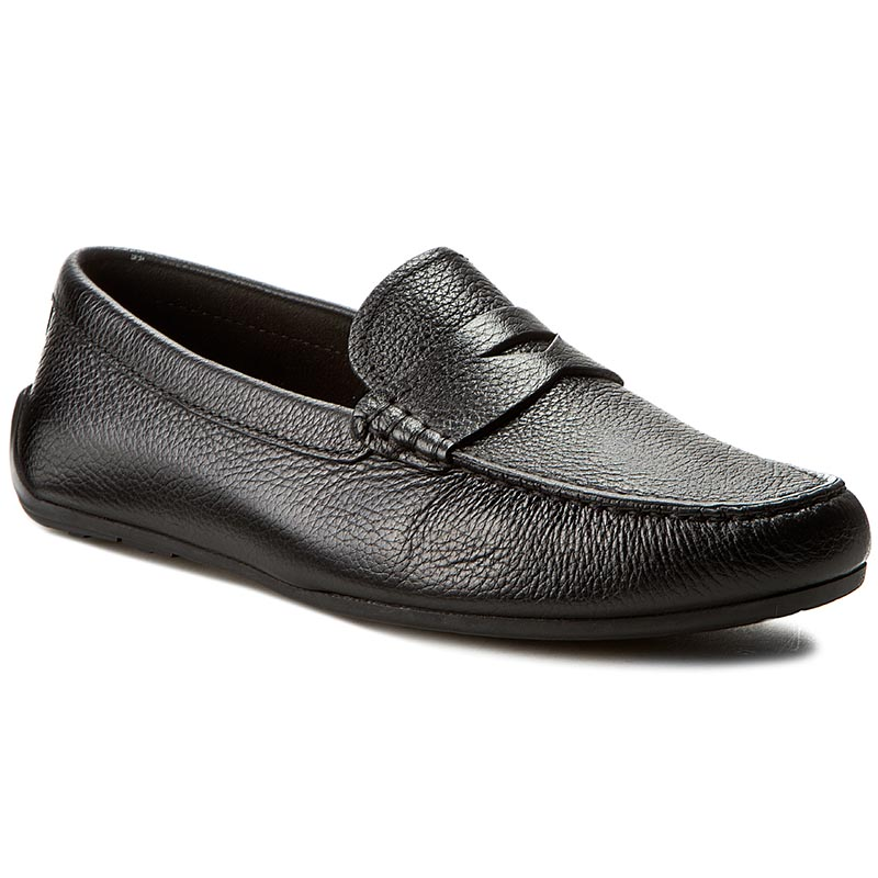 Mocasini CLARKS - Reazor Drive 261232447 Black Leather