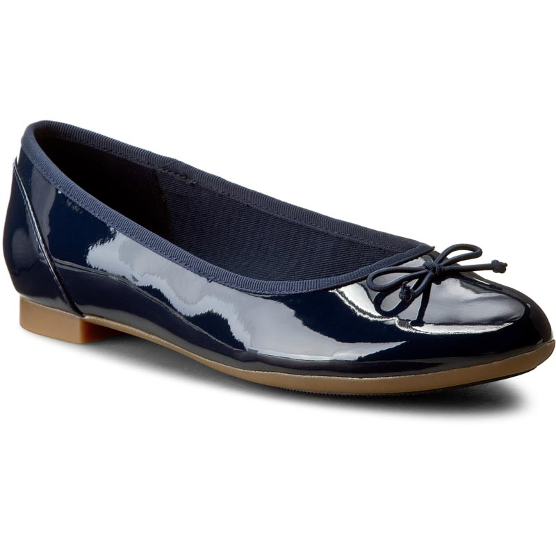 Balerini CLARKS - Couture Bloom 261185194 Navy Patent