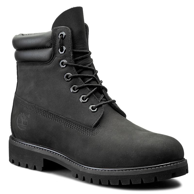 Trappers Timberland - 6 In Boot 73541 Black imagine