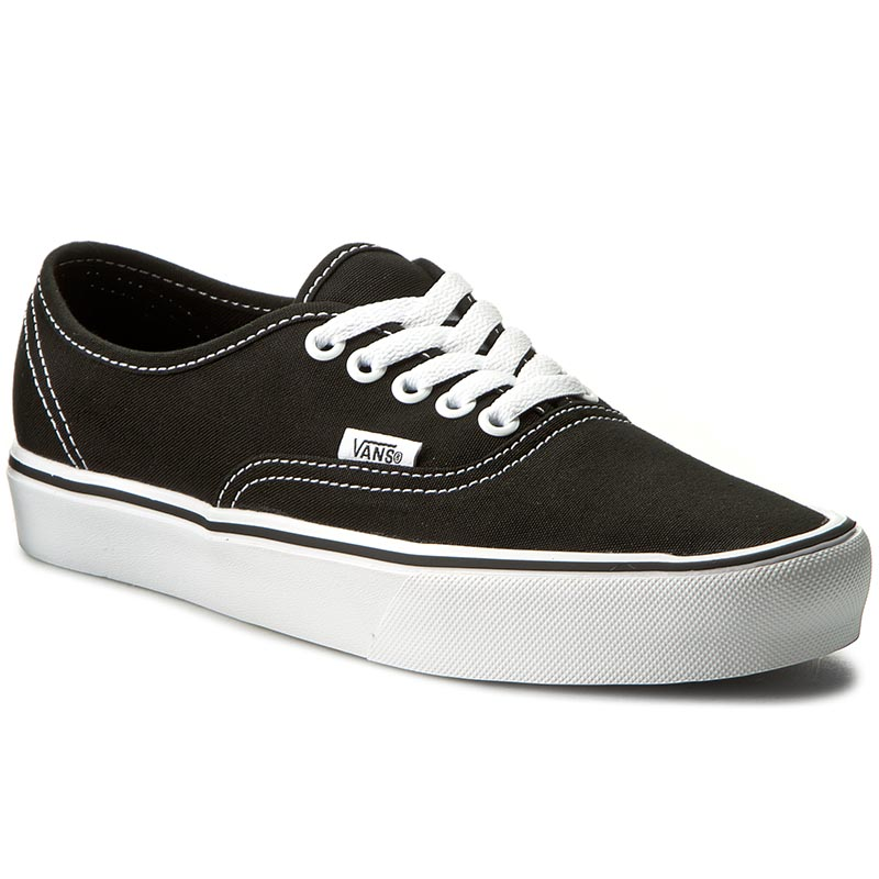 Teniși VANS - Authentic Lite VN0A2Z5J187 (Canvas) Black/White