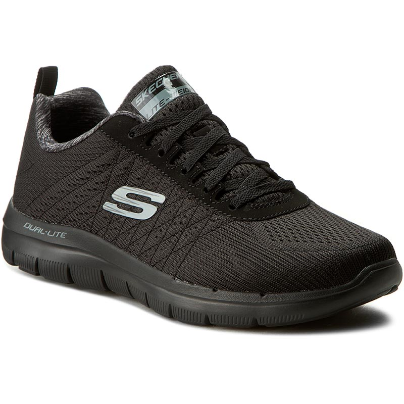 Pantofi SKECHERS - The Happs 52185/BBK Black