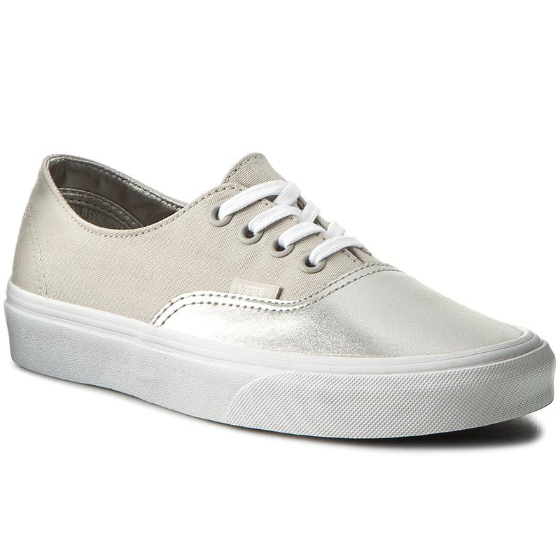 Teniși VANS - Authentic Decon VAN038EPMRK (Metallic Silver) Canvas