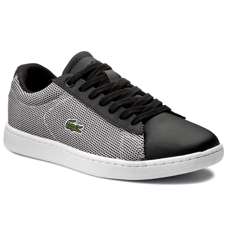 Sneakers LACOSTE - Carnaby Evo 117 1 Spw 7-33SPW1010312 Blk/Wht