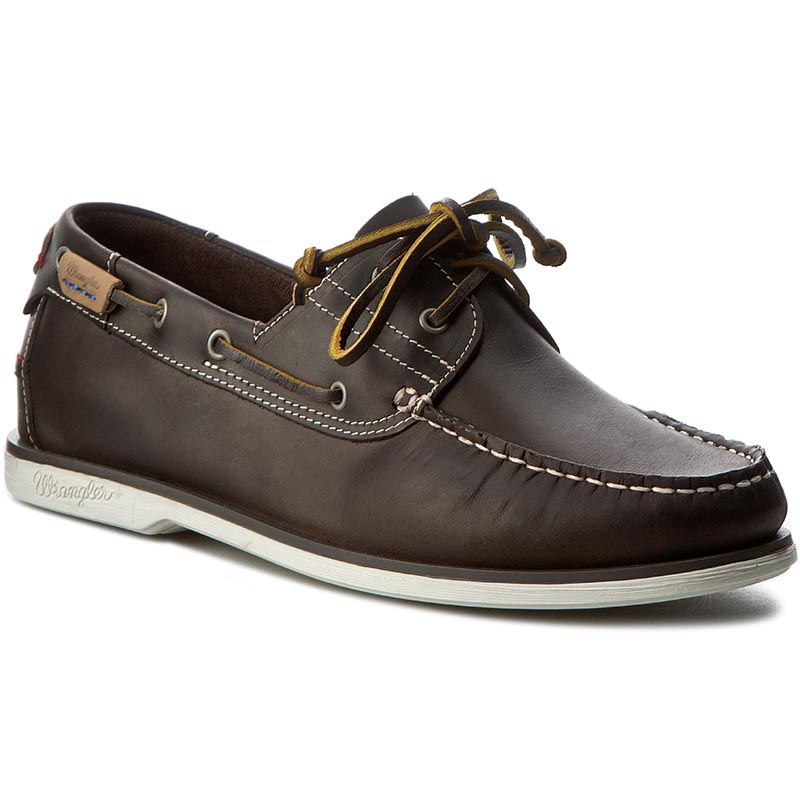 Mocasini WRANGLER - Ocean Leather WF0910182 Dk. Brown 30