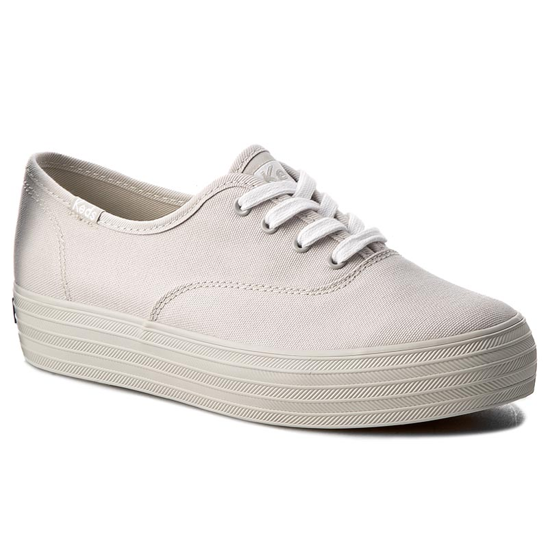 Teniși KEDS - Triple Mono WF56547 Light Grey
