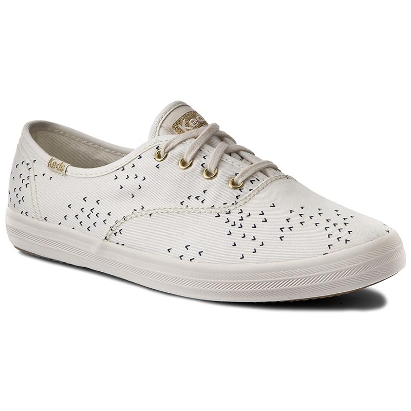 Teniși KEDS - Ch Mini Bird WF566421 Cream/Navy