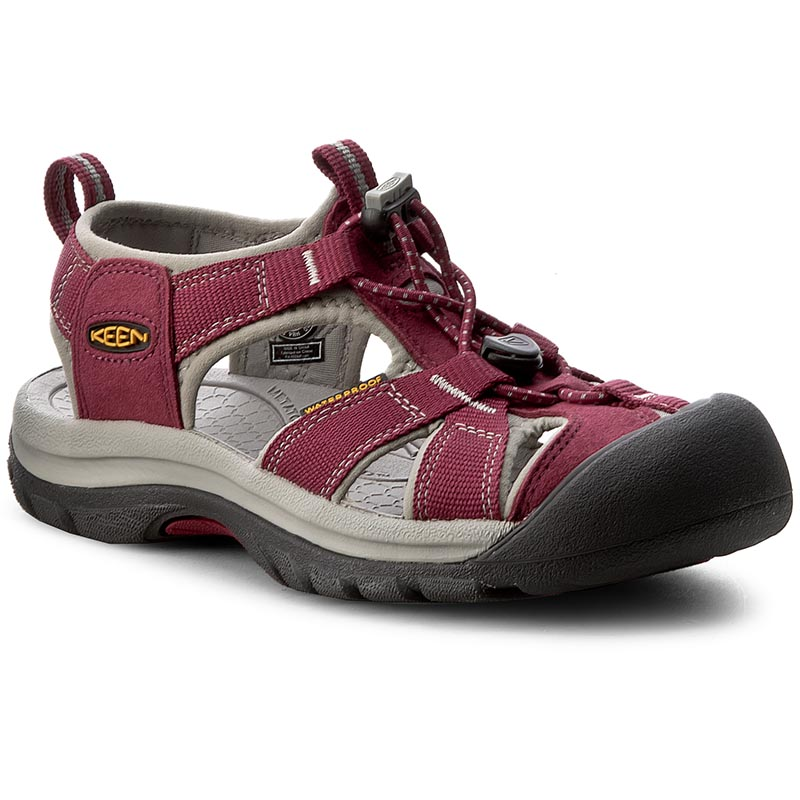 Sandale KEEN - Venice H2 1012238 Beet Red/Neutral Gray