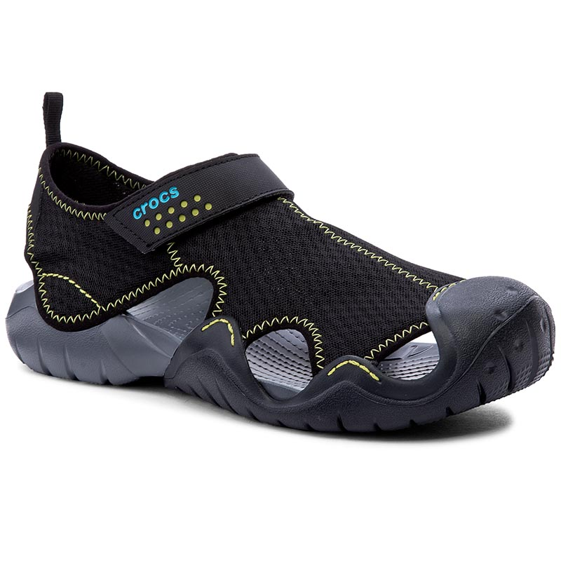 Sandale CROCS - Swiftwater Sandal M 15041 Black/Charcoal