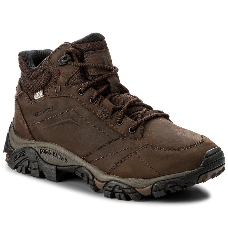 Trekkings MERRELL - Moab Adventure Mid Wtpf J91819 Dark Earth