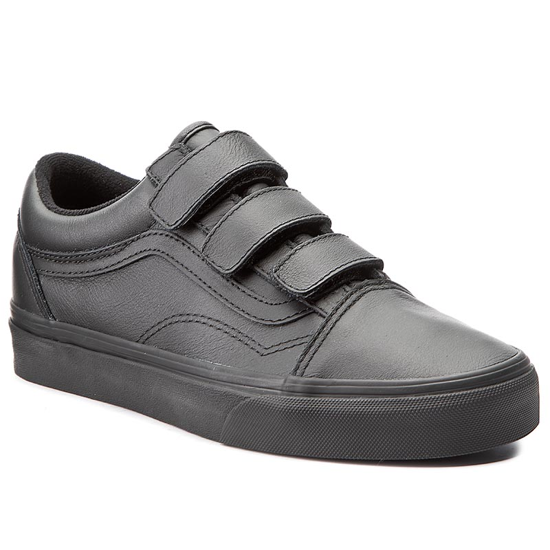 Pantofi VANS - Old Skool V VA3D29OOZ (Mono Leather) Black
