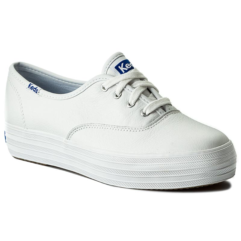 Teniși KEDS - Triple Leather WH55748 White