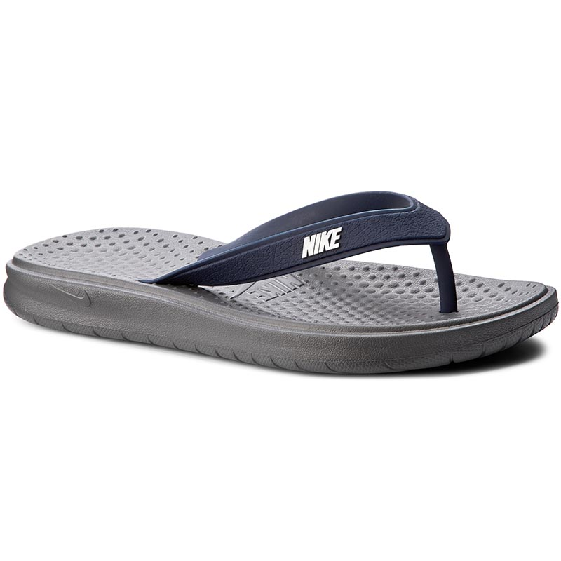 Flip flop NIKE - Solay Thong 882690 001 Dark Grey/White/Midnight Navy