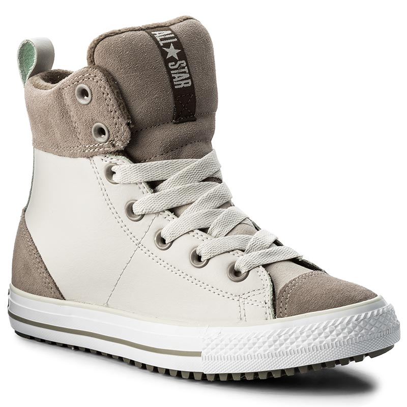 Ghete CONVERSE - Ctas Asphalt Boot Hi 658068C Pale Putty/Malted/Engine Smoke