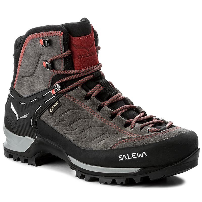 Trekkings SALEWA - Mtn Trainer Mid Gtx GORE-TEX 63458-4720 Charcoal/Papavero 4720