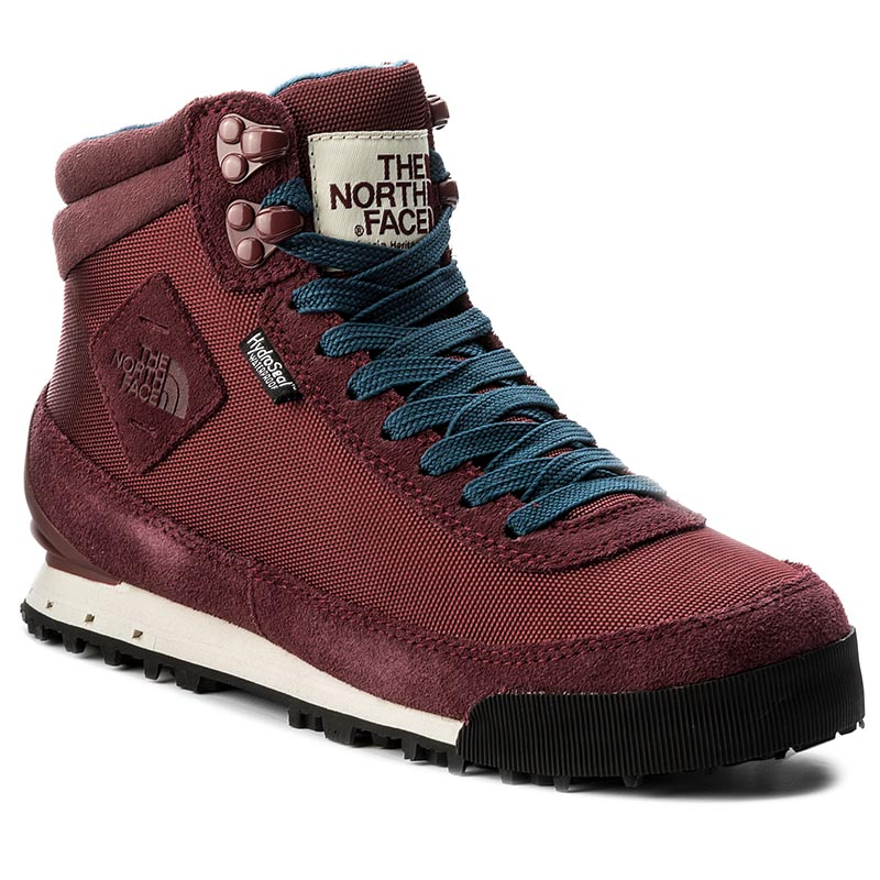Trappers THE NORTH FACE - Back-To-Berkeley Boot II T0AIMFVFZ Barolo Red/Vintage White