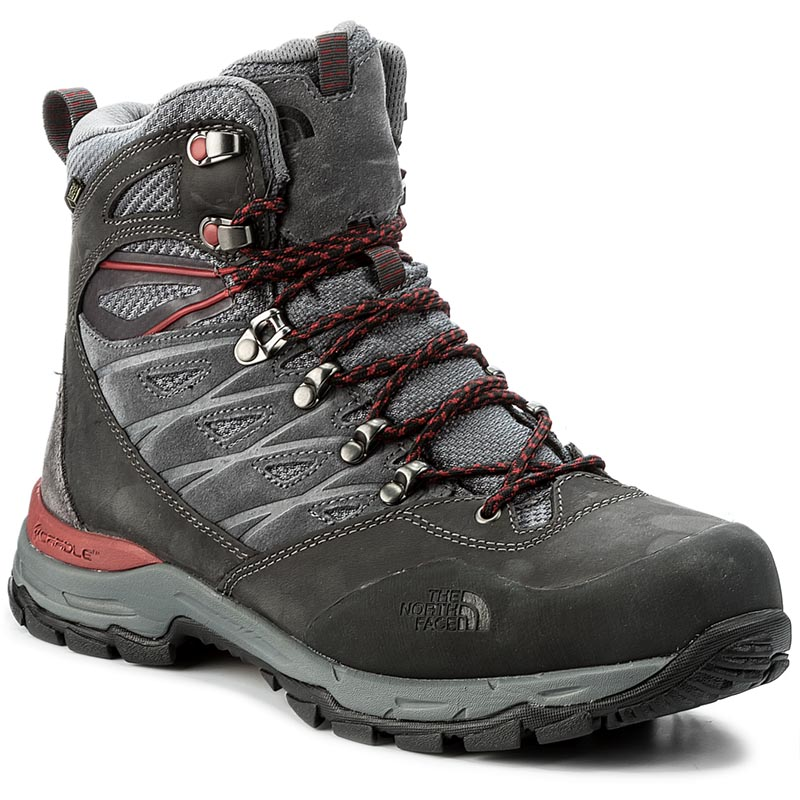 Trekkings THE NORTH FACE - Hedgehog Trek Gtx GORE-TEX T92UX1TCP Dark Shadow Grey/Rudy Red