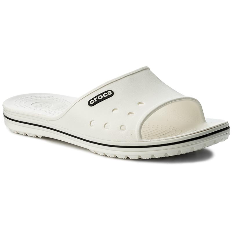 Șlapi CROCS - Crocband II Slide 204108 White/Black