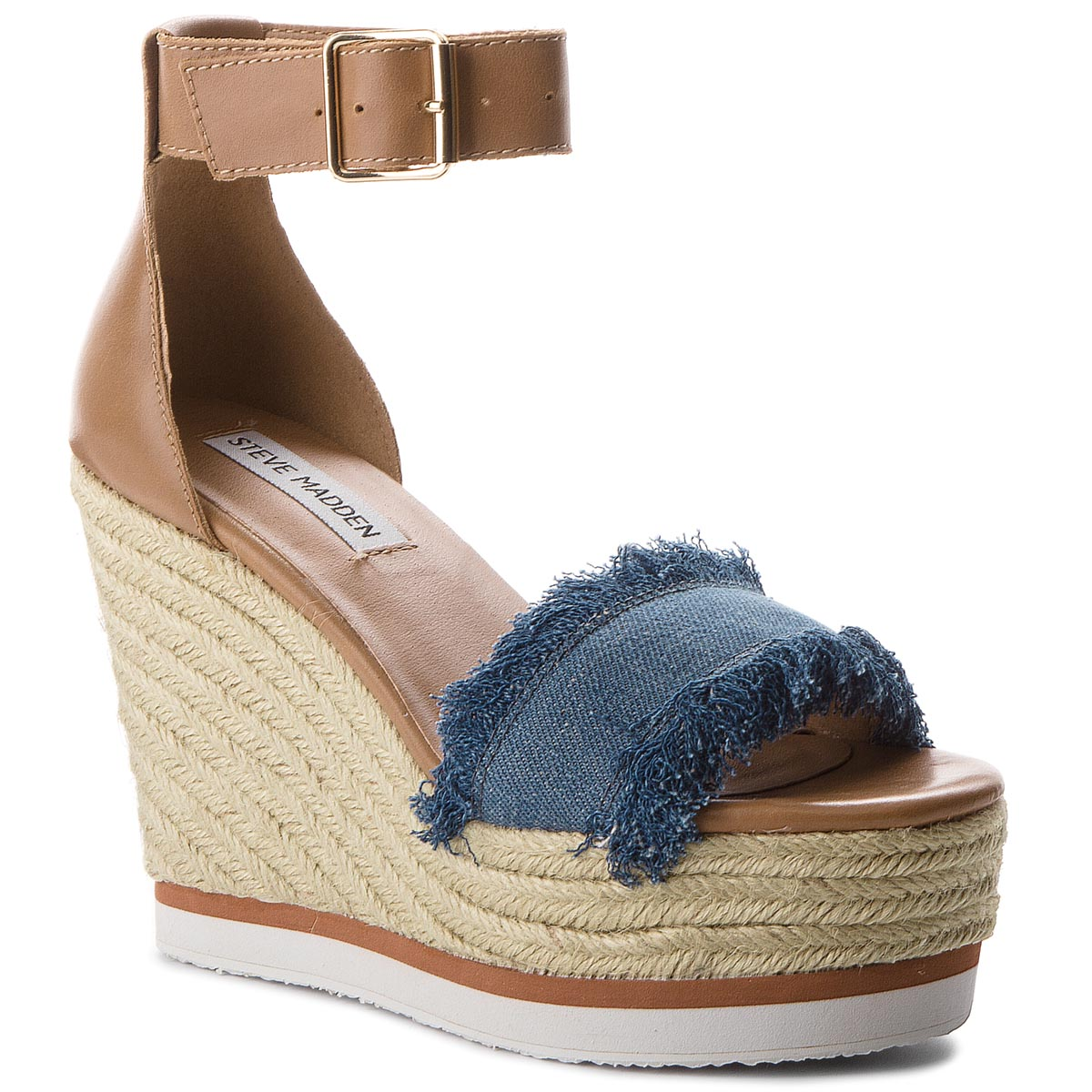 Espadrile STEVE MADDEN - Valley Sandal 91000966-09027-04004 Denim