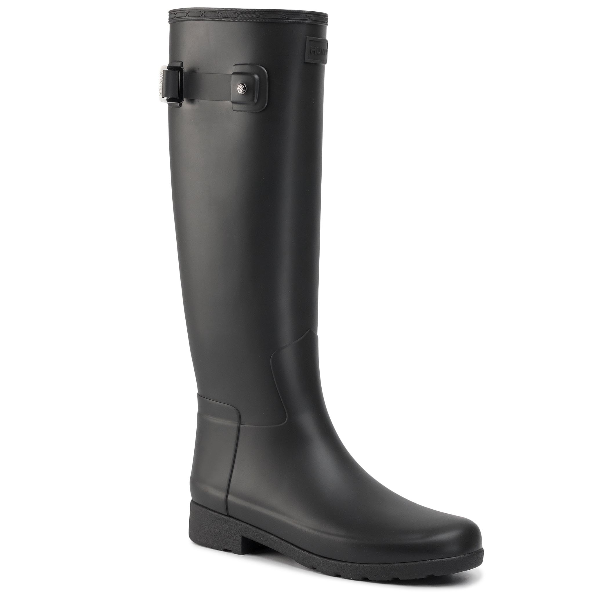 Cizme de cauciuc HUNTER - Original Refined WFT1071RMA Black