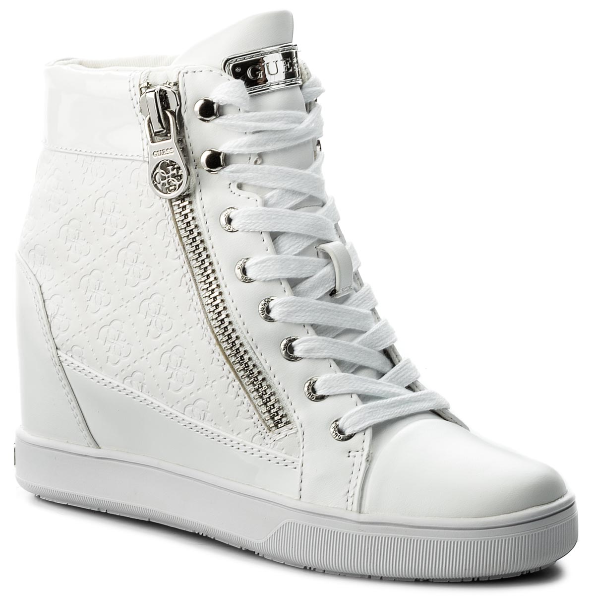 Sneakers GUESS - Foresst FLFOR1 FAL12 WHIWH