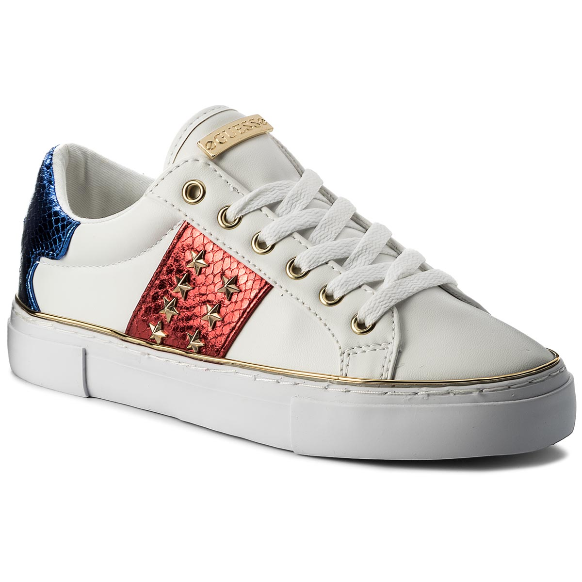 Sneakers GUESS - Gamer FLGAM1 ELE12 WHIRE