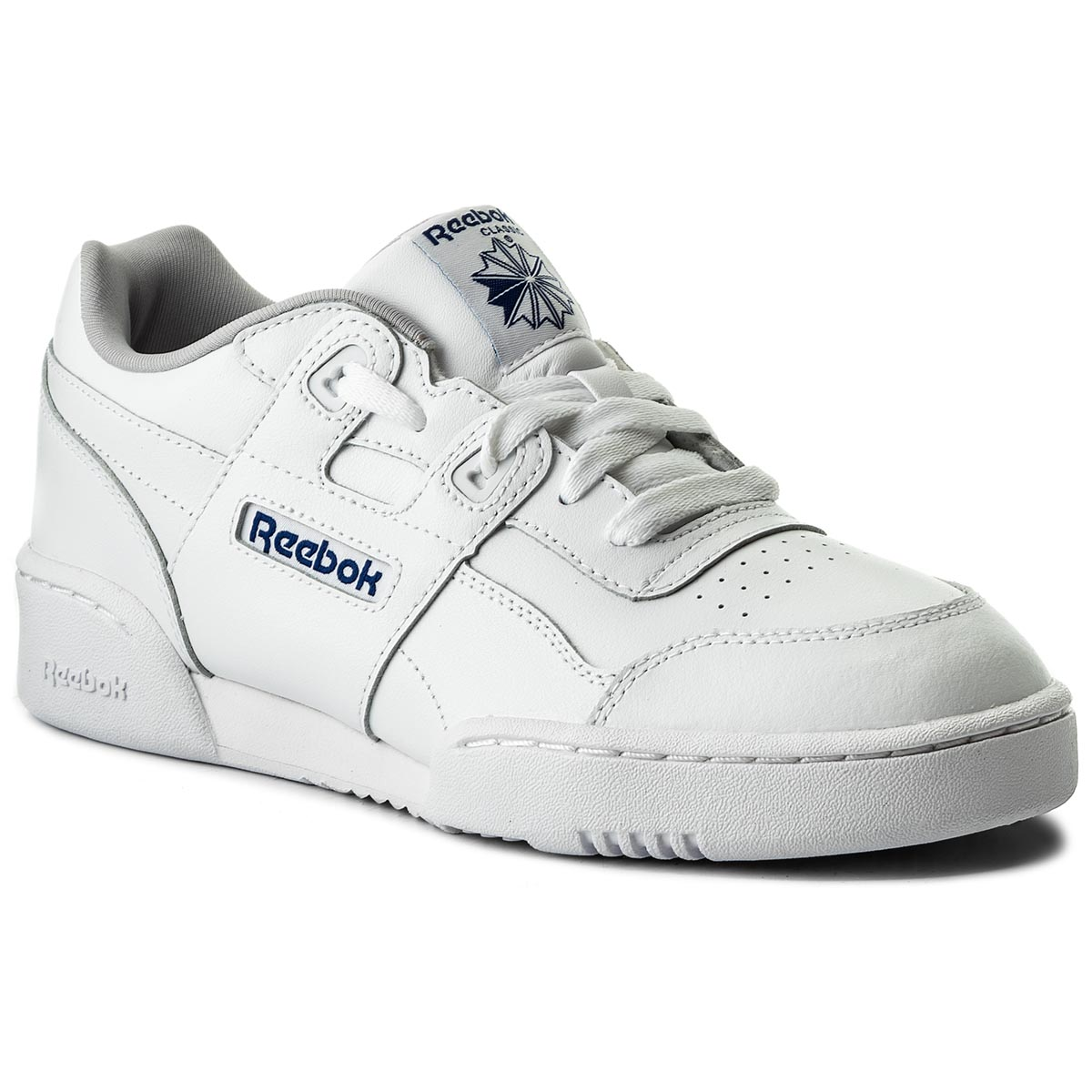 Pantofi Reebok - Workout Plus CN1826 White/Steel/Royal