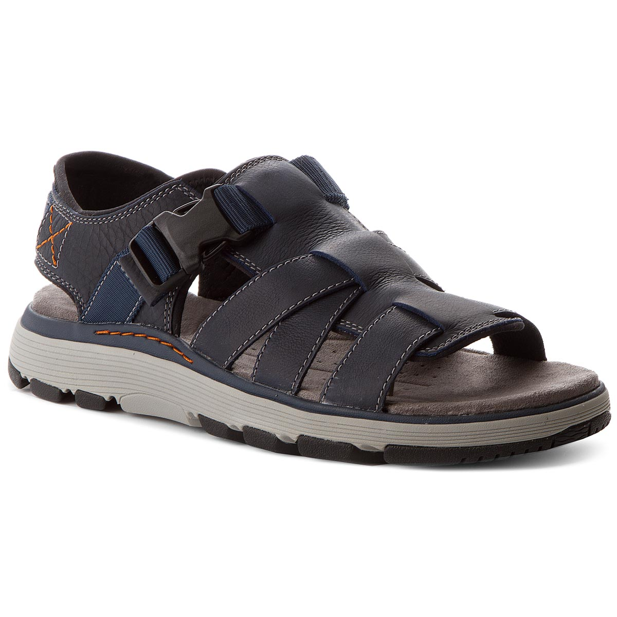 Sandale CLARKS - Un Trek Cove 261318617 Dark Navy