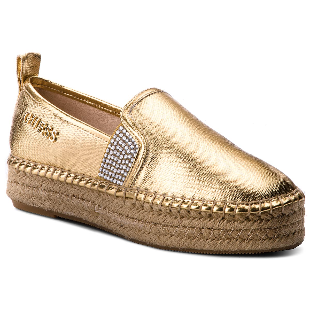 Espadrile GUESS - Rela FLRLE2 FAM14 GOLD
