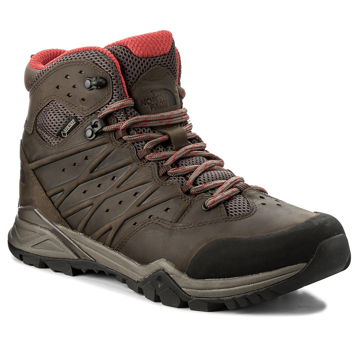Trekkings THE NORTH FACE - Hedgehog Hike II Mid Gtx GORE-TEX NF0A2YB44DC Bonebrn/Ragered