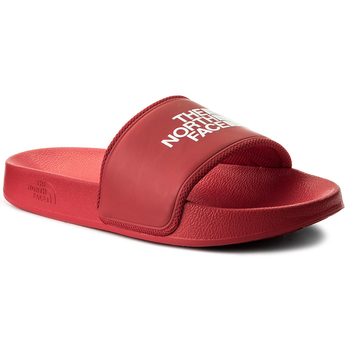 Șlapi THE NORTH FACE - Base Camp Slide II T93K4BKZ4 Tnf Red/Tnf White