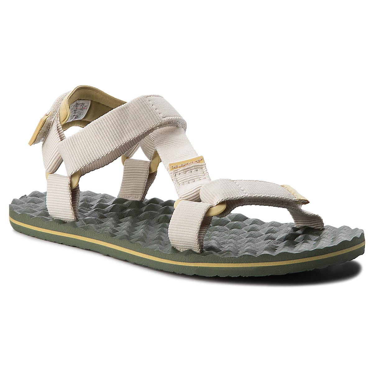 Sandale THE NORTH FACE - Base Sandal Camp Switchback Sandal T92Y984BT Vintage White/Olivenite Yellow