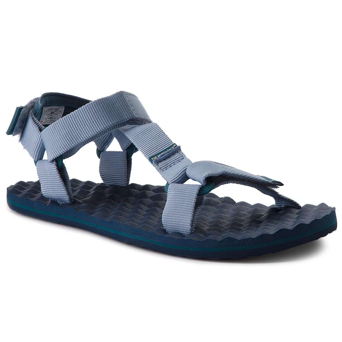 Sandale THE NORTH FACE - Base Camp Switchback Sandal T92Y984FL Dusty Blue/Blue Coral