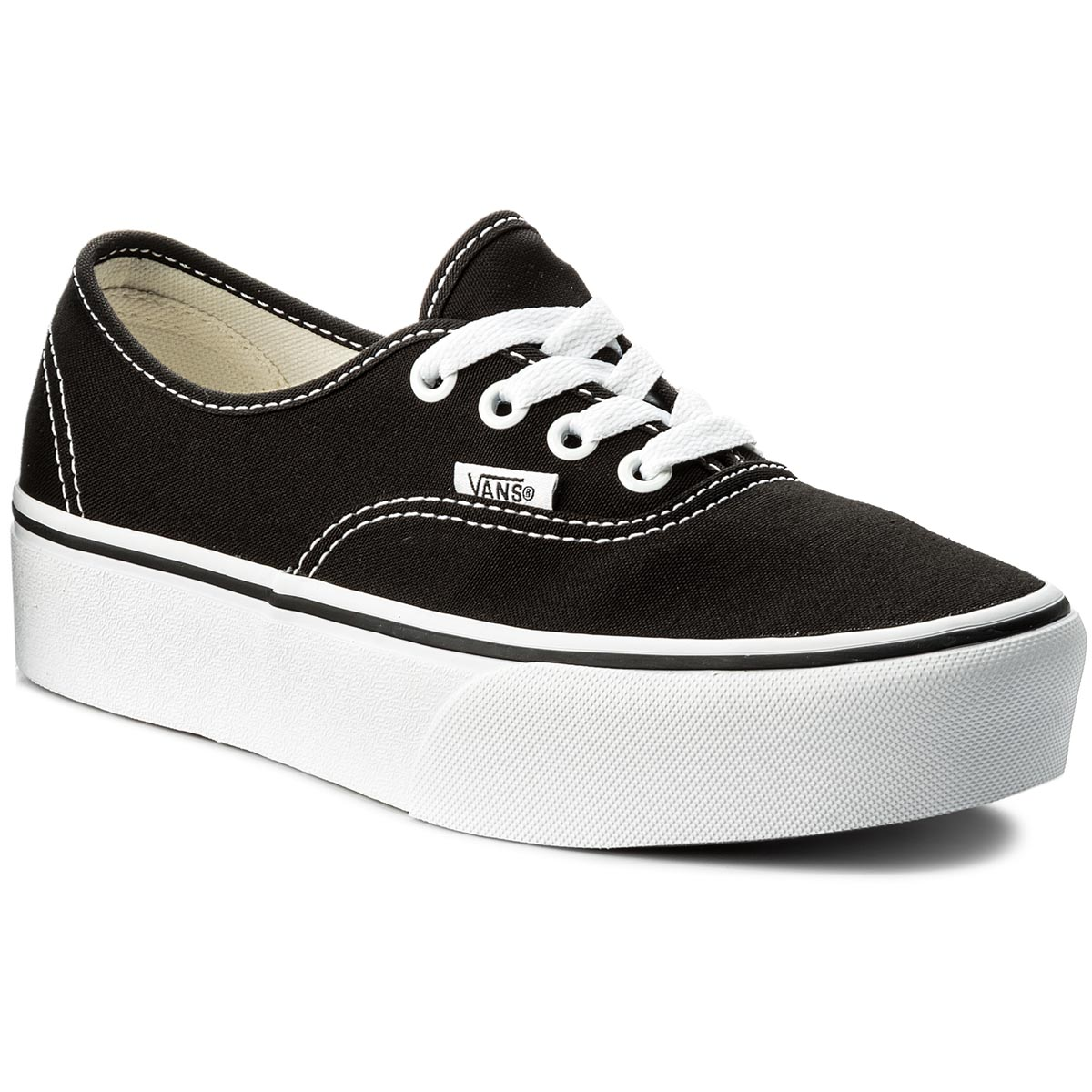 Teniși VANS - Authentic Platform VN0A3AV8BLK Black