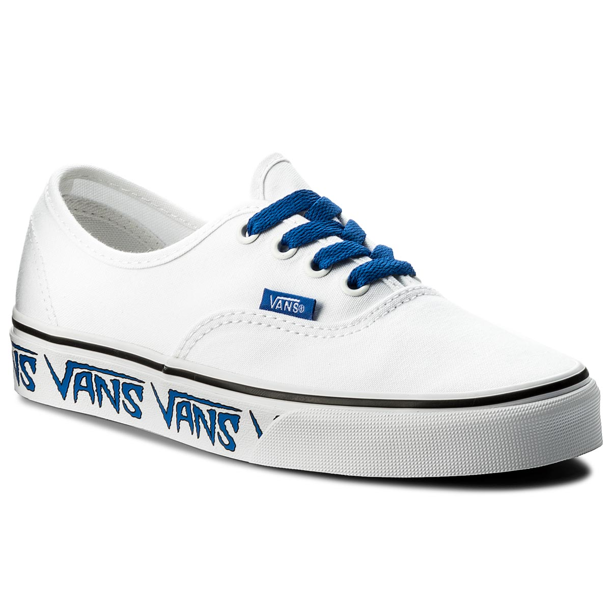 Teniși VANS - Authentic VN0A38EMQ9M (Sketch Sidewall) True Wh