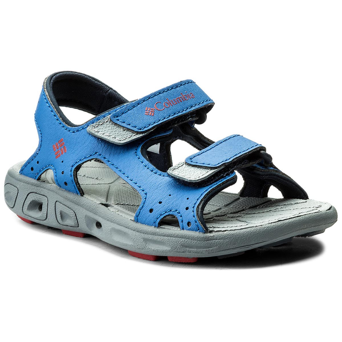 Sandale COLUMBIA - Childrens Techsun Vent BC4566 Stormy Blue/Mountain Red 426