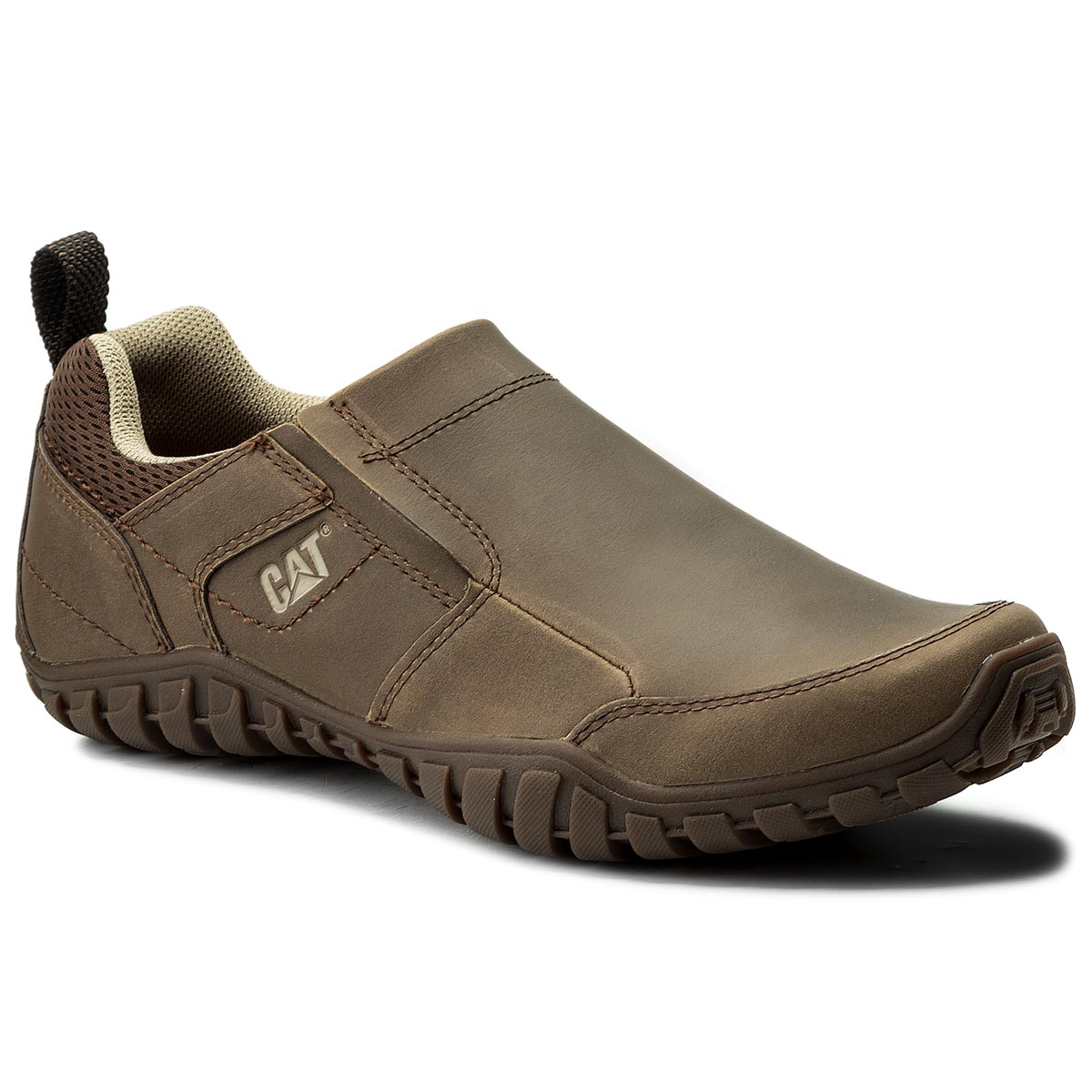 Pantofi Caterpillar - Opine P722314 Dark Beige imagine epantofi.ro