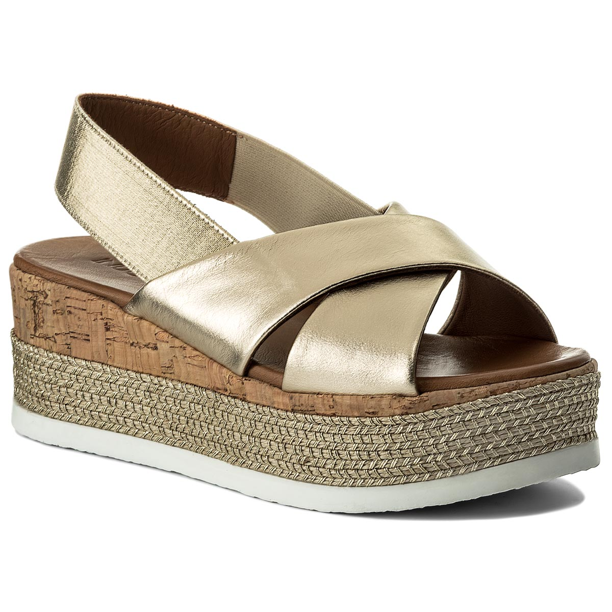 Espadrile INUOVO - 8761 Gold/Gold