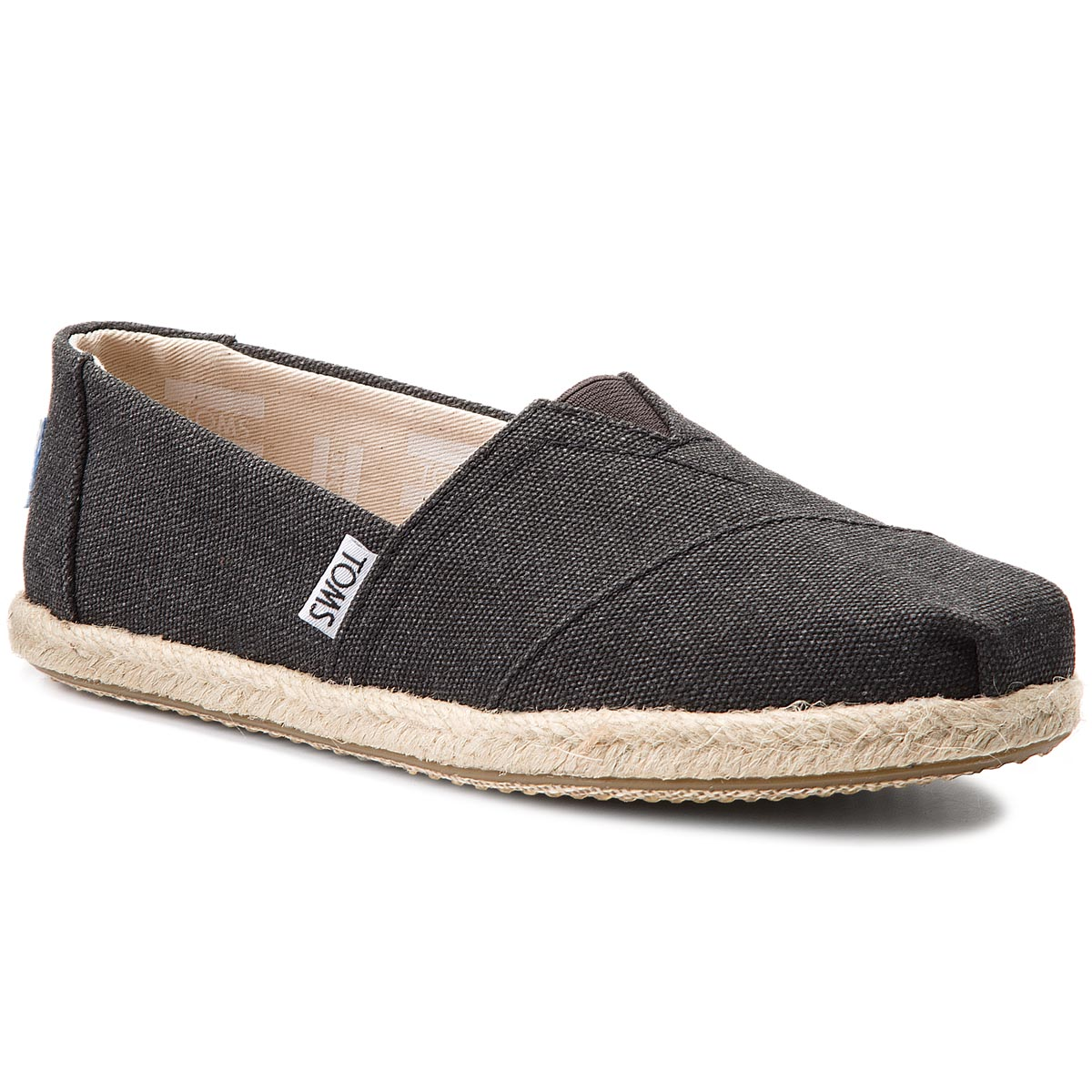 Espadrile TOMS - Classic 10009751 Black Washed
