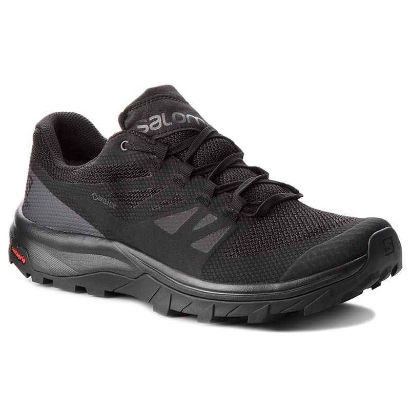 Trekkings Salomon - Outline Gtx Gore-Tex 404770 29 V0 Black/Phantom Magnet imagine epantofi.ro 2021
