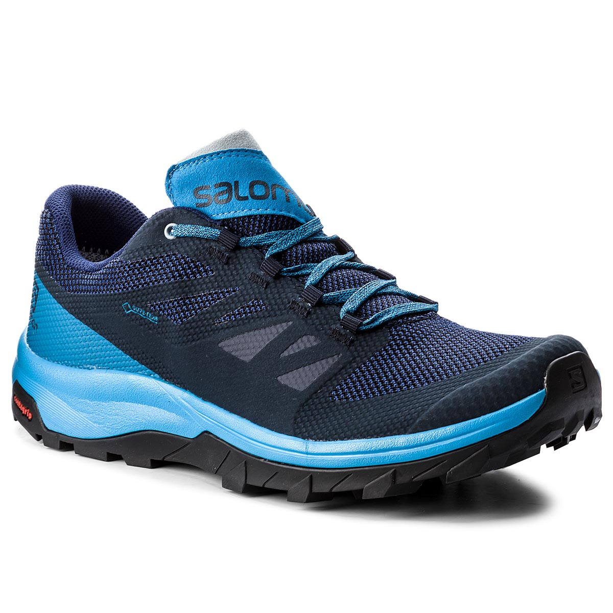 Trekkings Salomon - Outline Gtx Gore-Tex 406191 33 V0 10 Navy Blaze/Indigo Bun imagine epantofi.ro 2021